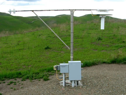 Site300 Radiation and Temperature Instruments